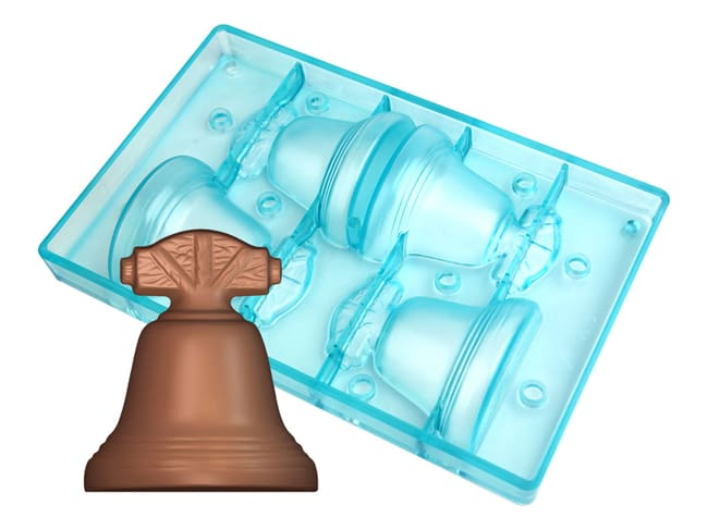 Easter Bell Chocolate Mould