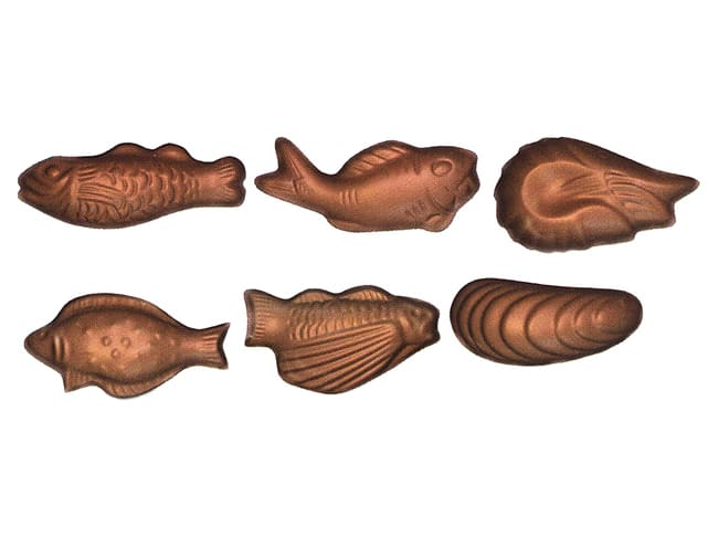 Easter Sea Shell Chocolate Mould - 30 Cavities