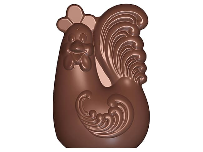 Rooster Chocolate Mould