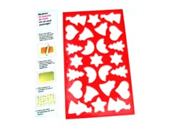 Christmas Cookie Cutting Sheet
