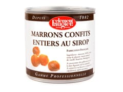 Premium Candied Chestnuts in Syrup