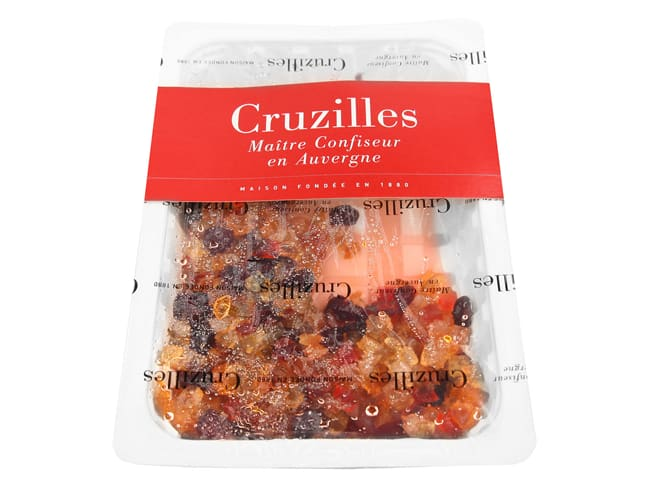 Candied Fruit Pastry Assortment - Premium Quality - 500g - Cruzilles