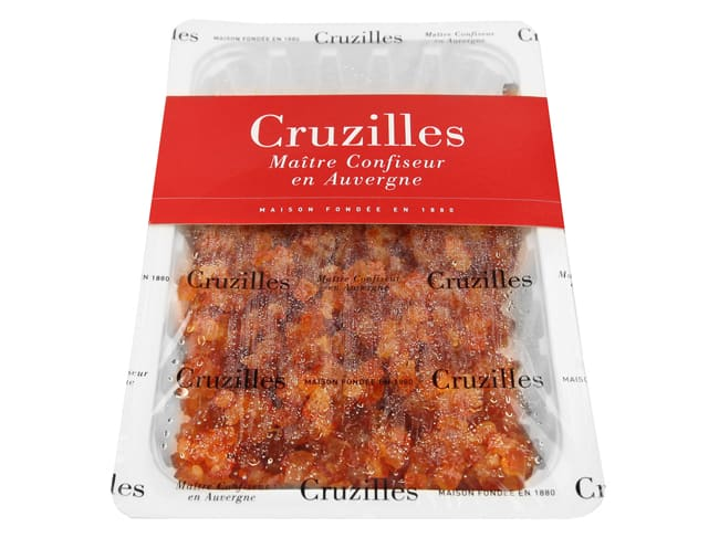 Candied Orange Cubes - Premium Quality - 500g - Cruzilles