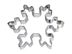 Stainless Steel Ring - Snowflake Ø 11.5cm