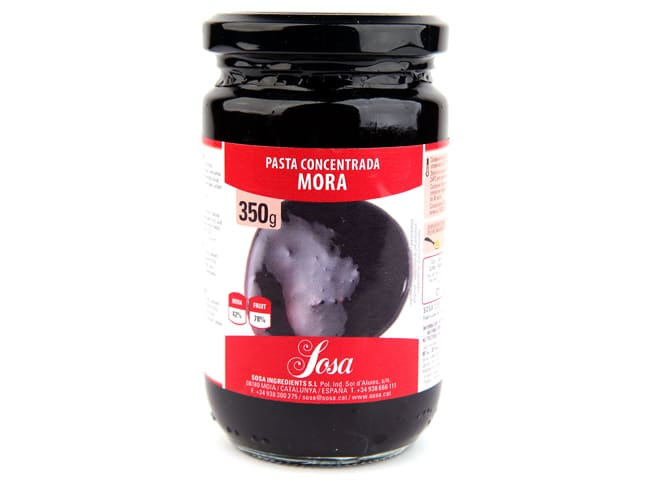 Concentrated Blackberry Paste 350g - Home Chef - Sosa