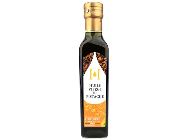 Virgin Pistachio Oil 25cl - Huilerie Beaujolaise