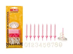 Birthday Candles with Numbers
