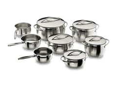 8-Piece Belly Stainless Steel Cookware Set - Lacor