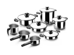 8-Piece Nova Ladycor Stainless Steel Cookware Set - Lacor