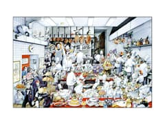 'The Kitchen' Poster by Roger Blachon