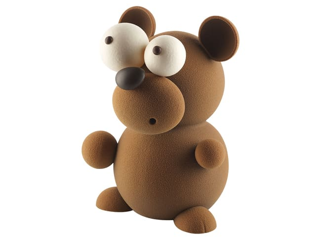 Teddy 3D Thermoformed Mould Kit - 30cm - Silikomart