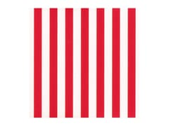 Chocolate Transfer Sheet - Red & White Stripes (x 10)