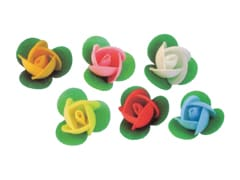 Assortment of Edible Wafer Roses (x 50)