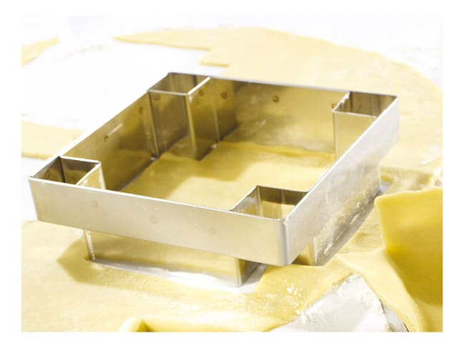 Pastry Cutter for Square Tart Ring - 8.5 x 8.5cm - Mallard Ferrière