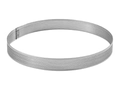 Perforated Stainless Steel Tart Ring