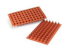 Silicone Mould - 66 Mini Cones