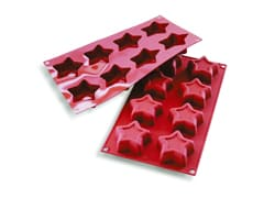 Flexible Silicone Mould - 8 Stars