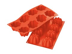 Flexible Silicone Mould - 8 Charlottes
