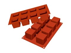 Flexible Silicone Mould - Cubes (8 cavities)