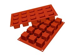 Flexible Silicone Mould - Mini Cubes (15 cavities)