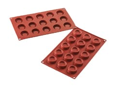 Flexible Silicone Mould - Savarin Shapes (15 cavities)