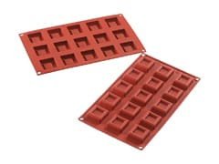 Flexible Silicone Mould - Squares (15 cavities)