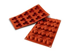Flexible Silicone Mould - Triskelion Shapes (15 cavities)