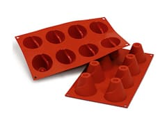 Flexible Silicone Mould - Volcano Shapes (8 cavities)