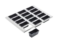 Tray + 15 Cake Moulds 9 x 4cm