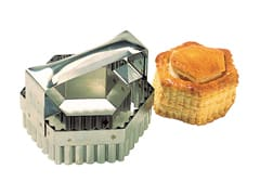 Stainless Steel Pastry Cutter - Double Hexagon