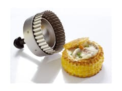 Stainless Steel Pastry Cutter - Double Round