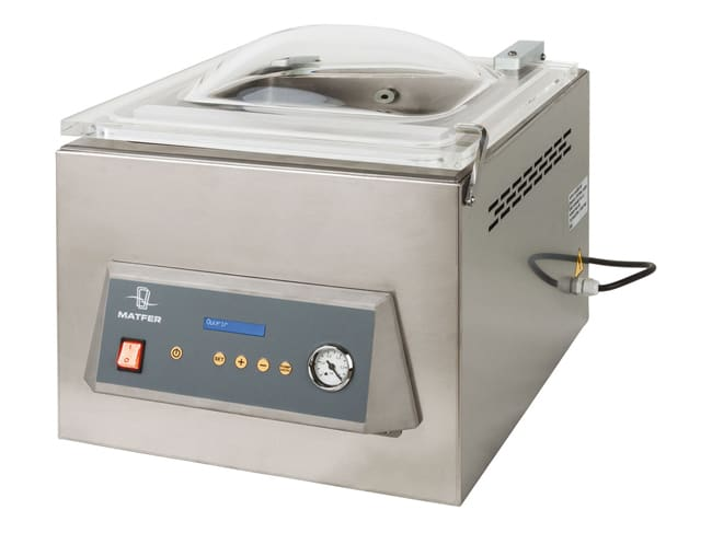 """Eos"" vacuum-packing machine with cloche"
