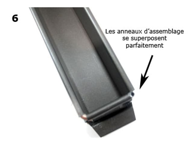 Mini Plain Rectangular Pâté Mould - Exopan® - 30cm - Matfer