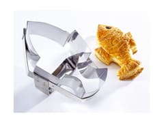 Stainless Steel Cookie Cutter - Fish (with Handle)
