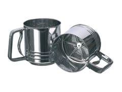 Stainless Steel Flour Sifter with Trigger Action