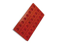 Fruit jelly flexible moulds - 24 blackberries, Raspberry