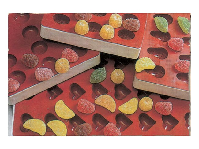 Round Fruit Candy Jelly Silicone Mould - Martellato