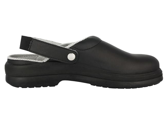 Silvo Black Catering Safety Clogs - Size 40 - NORD'WAYS