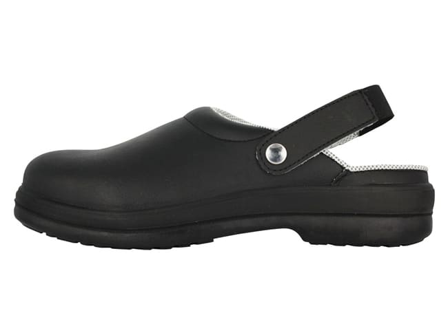 Silvo Black Catering Safety Clogs - Size 44 - NORD'WAYS