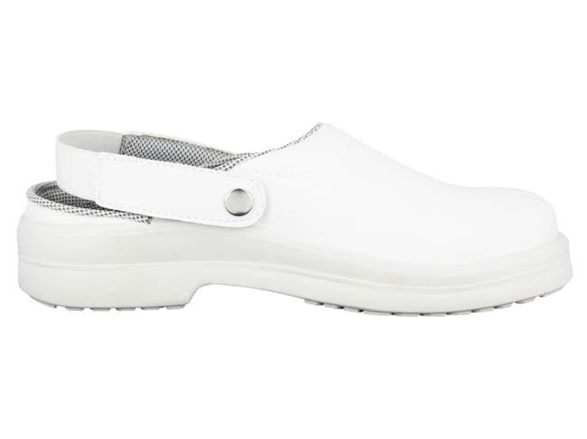 Silvo White Catering Safety Clogs - Size 45 - NORD'WAYS