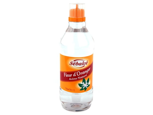 Orange Blossom Water 1 litre - Water soluble - Sébalcé