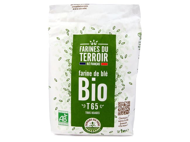 Organic Wheat Flour Type 65 - 1kg