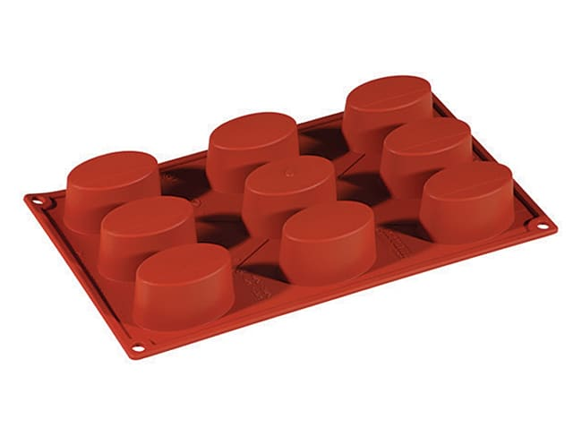 Formaflex Silicone Mould - 9 Oval Shapes - 30 x 17cm - Pavoni