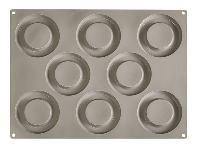 Pavoni Gourmand Silicone Mould - 8 Volume Rings - Pavoni