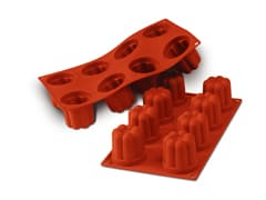 Flexible Silicone Mould - Bavarois (8 cavities)