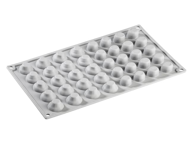 Mushroom Silicone Mould Mat - 20 Cavities - 30 x 17.5cm - Pavoni