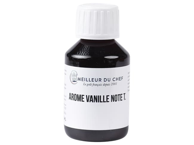 Tahitian Vanilla Flavouring - Water soluble - 58ml - Selectarôme