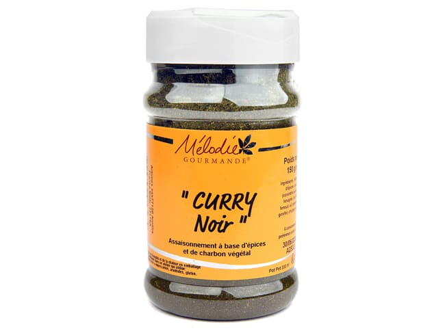 Curry noir 150 g - Mélodie Gourmande