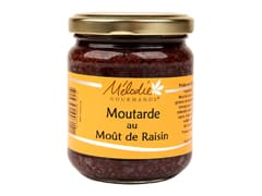 Moutarde au moût de raisin et épices