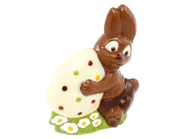Moule chocolat - lapin et oeuf